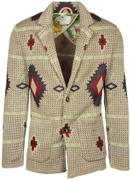 Etro Knitted Jacket - Beige