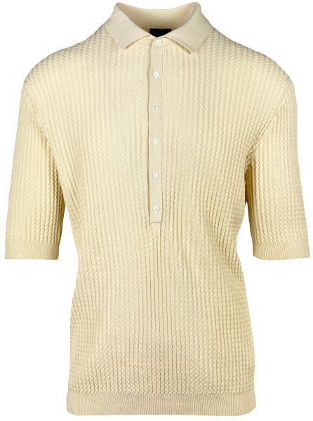 Lardini Poloshirt - Creme