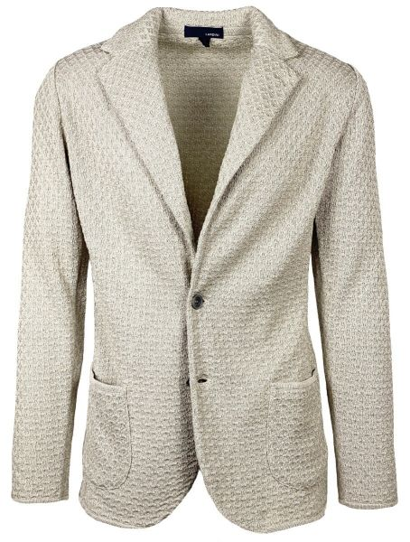 Lardini Knitted Jacket - Sand
