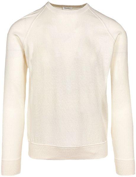 Cellini Cotton/Cashmere Crewneck - Off-White