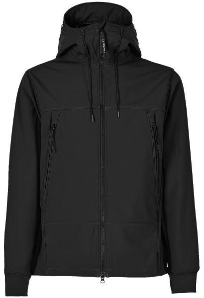 C.P. Company Softshell-R Goggle Jacket - Black