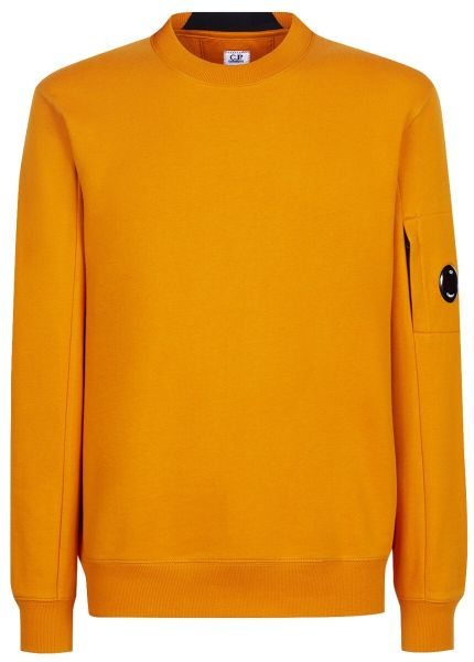 C.P. Company Diagonal Raised Fleece Sweatshirt  - Dessert Sun