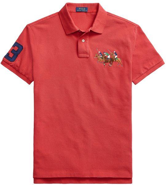 Ralph Lauren Triple Horse Polo - Sunrise Red