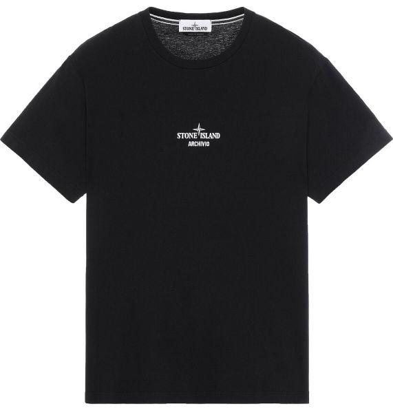 Stone Island Monobava Archivio T-Shirt - Black