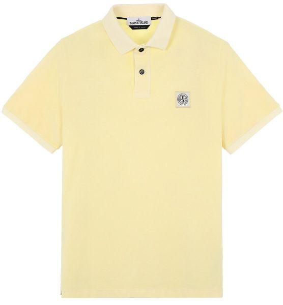 Stone Island Pigment Dyed Poloshirt - Soft Yellow