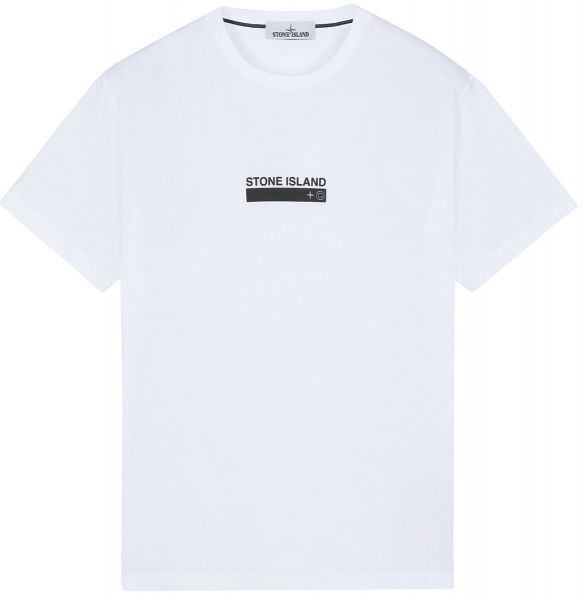 Stone Island 2NS55 Small Logo T-Shirt - White