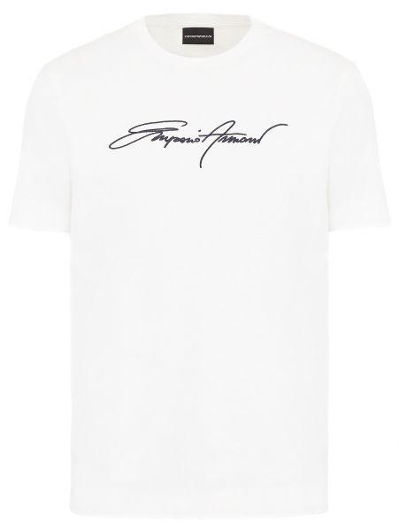 Emporio Armani Signature T-Shirt - White