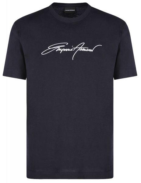 Emporio Armani Signature T-Shirt - Dark Blue