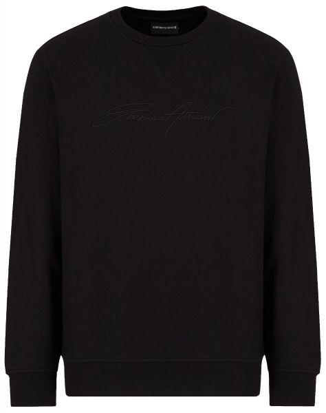 Emporio Armani Signature Sweater - Black