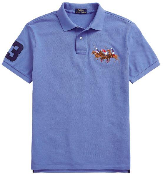 Ralph Lauren Triple Horse Polo - Scottsdale Blue