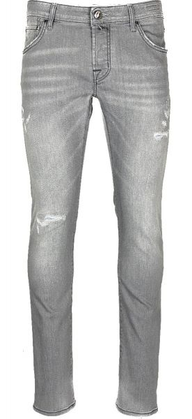 Jacob Cohen J622 - Comfort Jeans - Slim Fit - Grey Damaged Light Used
