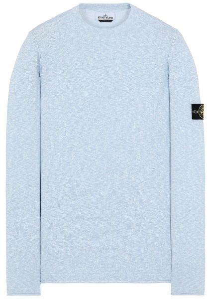 Stone Island Knitted Crewneck - Light Blue