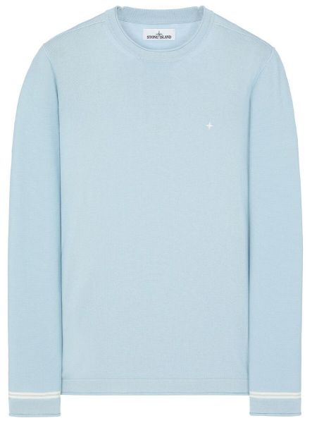Stone Island Crewneck Pullover - Light Blue