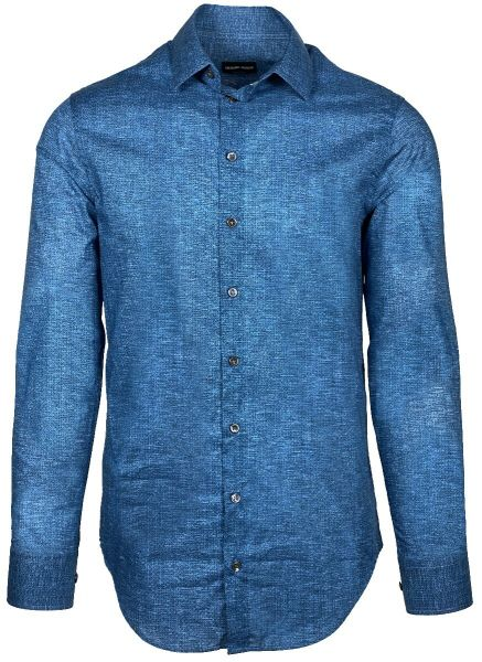Giorgio Armani Shirt Fancy - Blue
