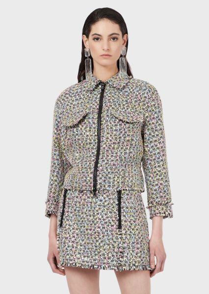 Emporio Armani Multicoloured Tweed Jacket