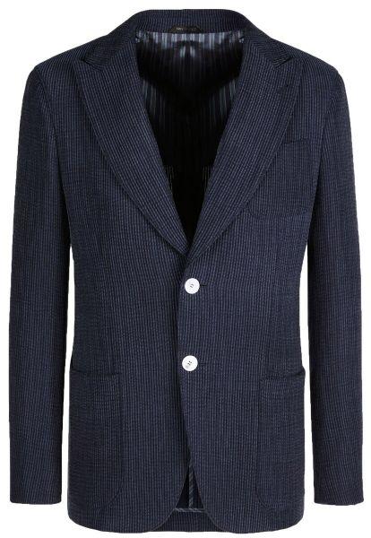 Giorgio Armani Jacket In Corded Velvet - Midnight Blue