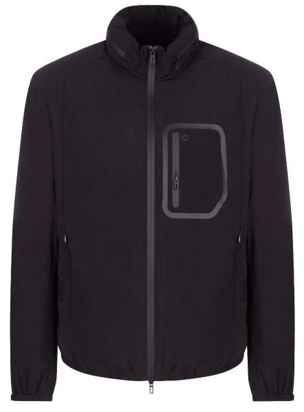 Emporio Armani Travel Essentials Jacket - Black