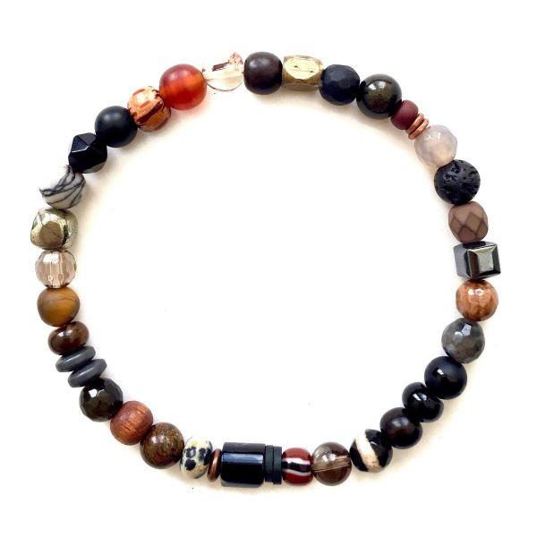 Kaoss Bracelet - Multicolour Brown