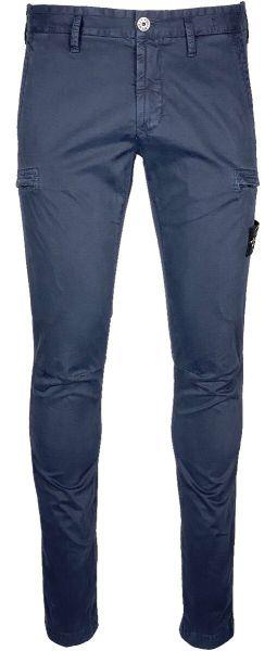 Stone Island Skinny Fit Cargo Pants - Dark Blue