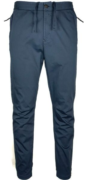 Stone Island Cotton Pants - Dark Blue