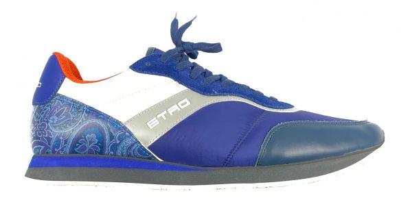 Etro Sneakers - Blauw Wit