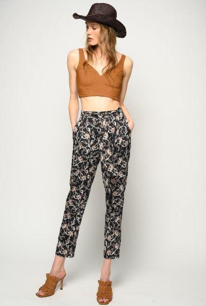Pinko Foliage Print Trouser