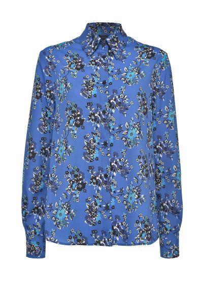 PINKO Multi Floral Blouse - Blauw