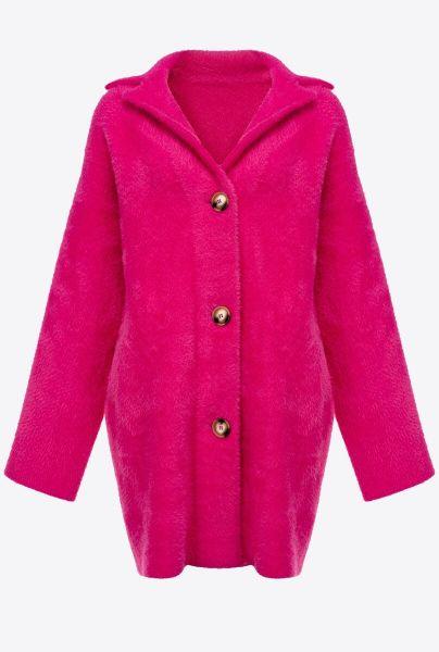 Pinko Stretch Overcoat - Pink