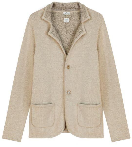 Etro Eco-Cashmere Jersey Jacket - Beige