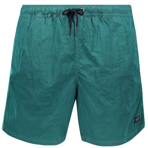 Paul & Shark Swim Short - Water Green