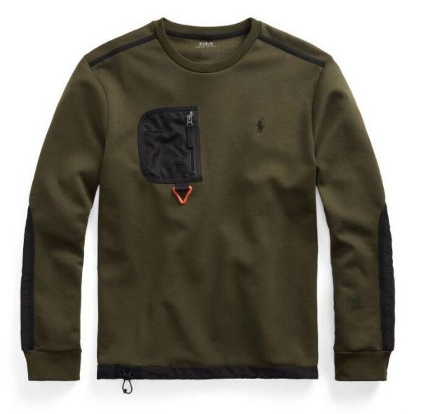 Ralph Lauren Hybrid Sweatshirt - Army Green