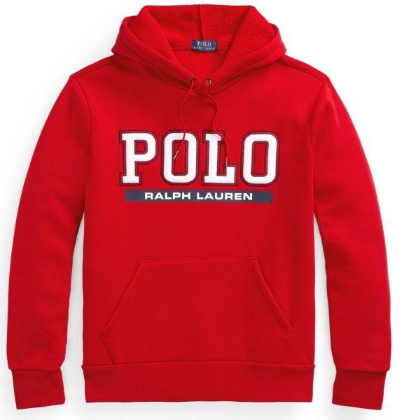 Ralph Lauren Logo Hoodie - Red