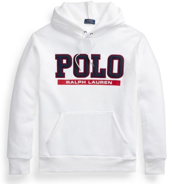 Ralph Lauren Logo Hoodie - White