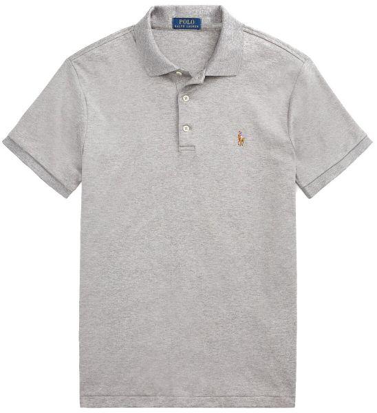 Ralph Lauren Jersey Polo - Steal Grey
