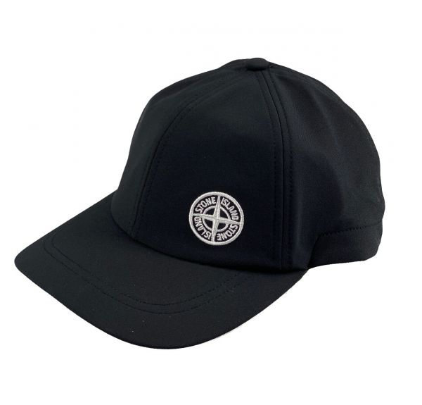 Stone Island Nylon Hat - Black