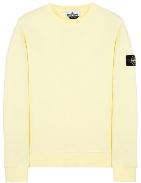 Stone Island Sweatshirt - Yellow