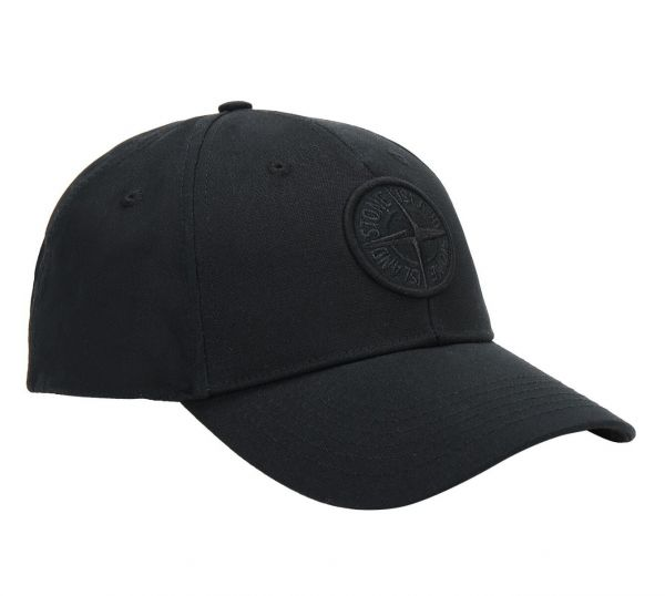 Stone Island Cotton Hat - Black