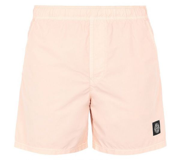 Stone Island Brushed Nylon Swimshorts - Pink