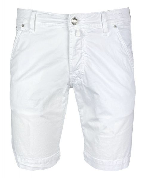 Jacob Cohen J6613 - Comfort Bermuda - Summer Cotton - White
