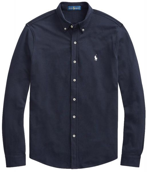 Ralph Lauren Stretch Mesh Shirt - Aviator Navy