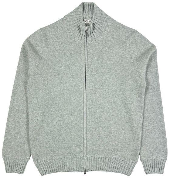 Cellini Cashmere Cardigan - Grey