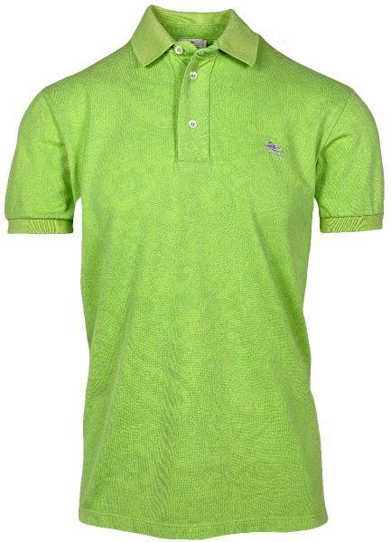 Etro Poloshirt Paisley Print - Green