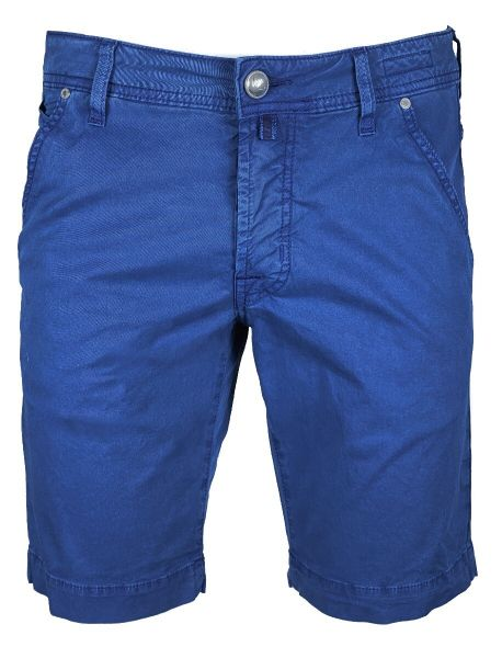 Jacob Cohen J6613 - Comfort Bermuda - Summer Cotton - Kobalt Blue