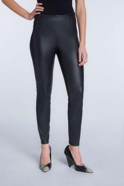 SET Leather Pants - Black