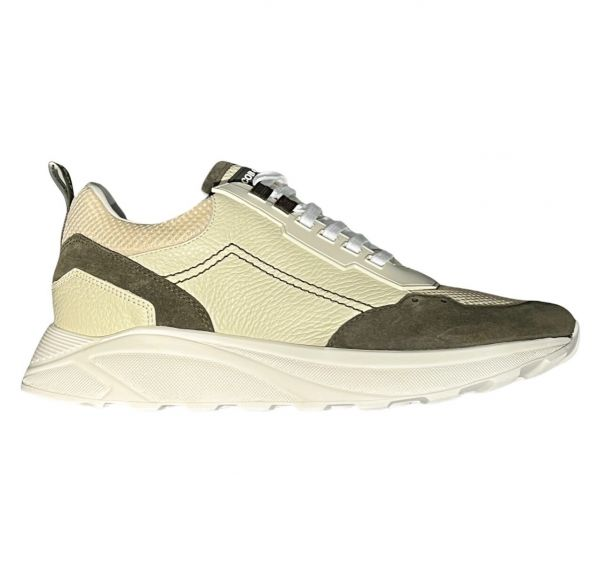 Jacob Cohen Sneaker - Beige/Green