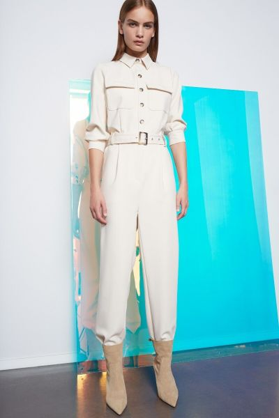 SET Jumpsuit - Whitecap Gray