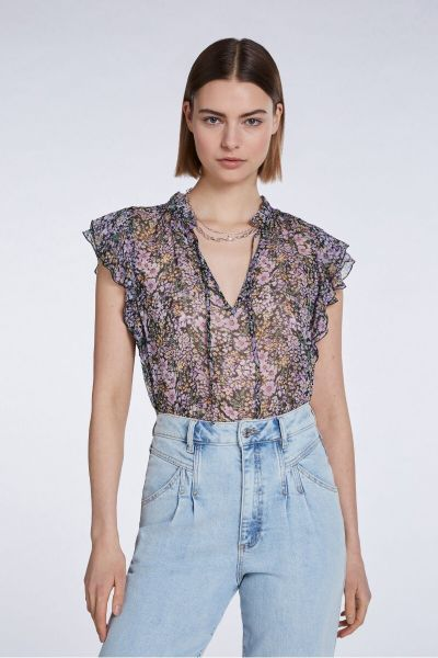 Set Top - Black Violet
