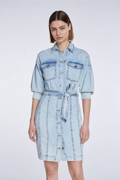 SET Denim Dress - Italian Blue