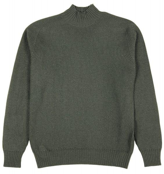 Cellini Rain Wool Mockneck - Dark Grey