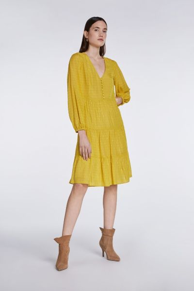 SET Long Dress - Yellow Sun
